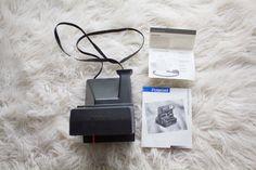 Polaroid OneStep Flash manuel par Bahro sur Etsy