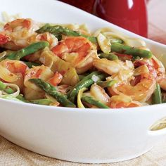 Shrimp cooks so quickly that it's easy to overcook, but you won't have that problem in this saucy shrimp sauté because the technique preserves the shrimp's tender interior and boosts its delicate flavor. It's important to start with a good sear, which guarantees moist, succulent results.