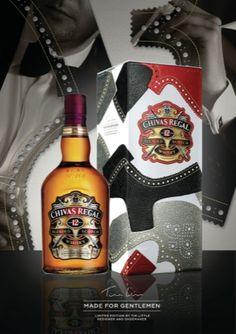Chivas Made for Gentlemen packaging