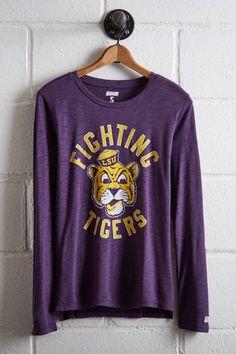 Tailgate Women's LSU Tigers Long Sleeve T-Shirt