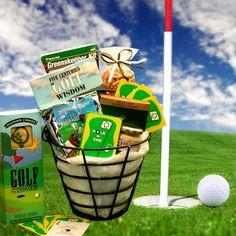 Gift Baskets for Men Golfer's Caddy – Gift Basket Ideas Gift Baskets For Him, Gourmet Gift Baskets, Gourmet Gifts, Wine Baskets, Storage Baskets, Gifts For Golfers, Golf Gifts, Sports Gifts, Diy Gifts