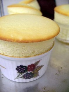 Yogurt Souffles