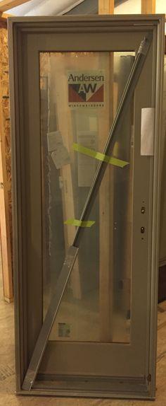 Anderson Glass Patio Door