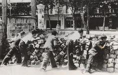 Agusti Centelles 1936 - Barricadas en Barcelona