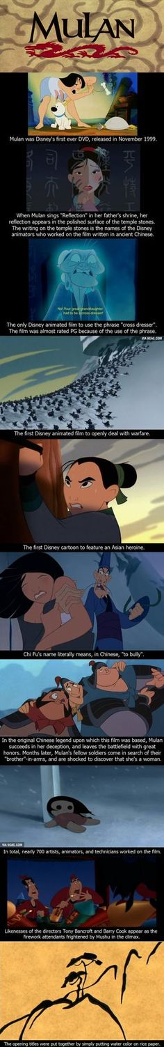 10 Funny Facts About Mulan