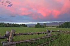 Teton Valley Sunset - (The Hole Picture • Bringing Home The Outdoors )