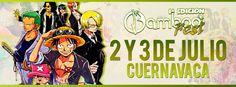 Bamboo Fest 2016 - Cuernavaca, Morelos, México, 2 y 3 de Julio 2016 ~ Kagi Nippon He ~ Anime Nippon-Jin