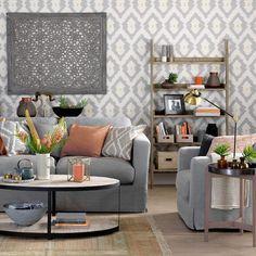 ▷ 1001 + Atemberaubende Ideen Für Wandfarbe Grau | Wandgestaltung Ideen |  Pinterest | Wohnzimmer Grau Weiß, Weiße Sofas Und Wohnzimmer Grau