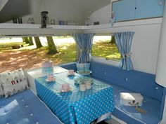 vintage caravan - betty beach hut
