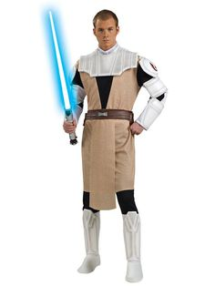 Check out Adult Obi Wan Kenobi Costume - Star Wars Mens Costumes from Wholesale Halloween Costumes
