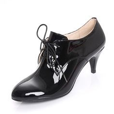 Boots - $69.99 - Patent Leather Kitten Heel Closed Toe Ankle Boots shoes  http://www.dressfirst.com/Patent-Leather-Kitten-Heel-Closed-Toe-Ankle-Boots-Shoes-088020707-g20707