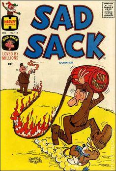 Sad Sack Cartoon | Sad Sack (1949) comic books