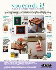 DIY Game Table | Minwax