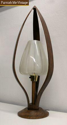 Danish Tulip Table Lamp Lighting Mid Century Modern