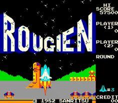 Video Game Nation  Name :Rougien  Publisher:Sanritsu  Year: 1982 Fun Factor  :interesting