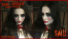 SAW - Jigsaw Puppet Makeup Tutorial | Naty