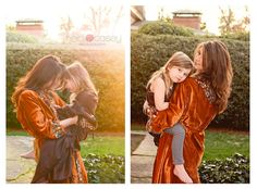 mom and daughter poses