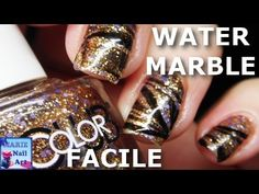 Sally Hansen Miracle Gel Water Marble Experiment! , YouTube