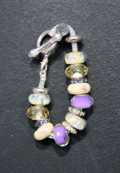 BeadGlitz Children's Euro Bead Bracelets