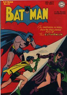 Batman 42 (1947) - Cover by Jack Burnley and Charles Paris