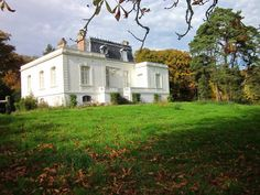 Manor House with Lake on 9 Hectares French Houses, French Property, Luxury Homes Dream Houses, France, Property For Sale, Countryside, Coastal, House Styles, Pays De La Loire