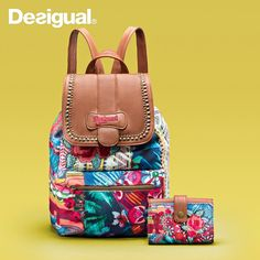 Desigual Rucksack Backpack, Fashion Backpack, Backpacks, Jeans, Collection, Chula, Ideas Para, Style, Clothing