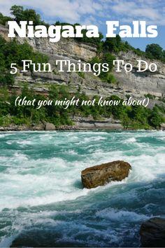 Five fun lesser-known attractions in Niagara Falls, Canada.
