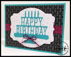 Party Pop Up Thinlit Birthday Card