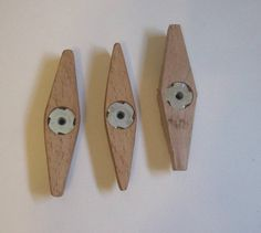 Going green - make your own jig and fixture knobs / wing nuts - by ChuckM @ LumberJocks.com ~ woodworking community