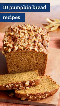 10 Pumpkin Bread Recipes – Thanks to canned pumpkin, you can serve up scrumptious pumpkin desserts any time of year. These delicious treats are for so much more than your Thanksgiving menu thanks to the showstopping pumpkin pies and pumpkin cheesecake recipes.
