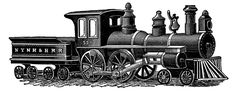 **FREE ViNTaGE DiGiTaL STaMPS**: Free Digital Stamp - Vintage Train