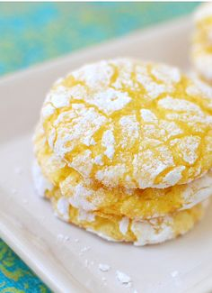 Lemon Burst Cake Mix Cookies at TidyMom.net