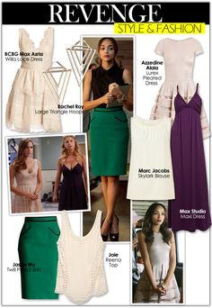Revenge Style & Fashion | Celebrity Style Guide Blog