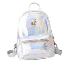 New Trending Backpacks: SSJ: Glitter Rucksack Enamel Rainbow Hologram Shoulder Bag Fashionable Women Messenger Crossbody (Silver). SSJ: Glitter Rucksack Enamel Rainbow Hologram Shoulder Bag Fashionable Women Messenger Crossbody (Silver)   Special Offer: $25.99      155 Reviews Glitter of enamel is very fashionable backpack! A4 firmly into large capacity ♪ those of size Appearance is a fashionable and possible...
