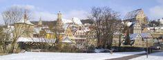 Winter in Schwaebisch Hall