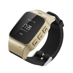 KOBWA D99 Elderly Kids GPS Tracker Android Smart Watch Google Map SOS Wristwatch Personal GSM GPS LBS Wifi Safety Anti-Lost Locator Watch * Click image for more details.