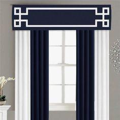 Box Valance, Valances & Cornices, Cornice Box, Window Cornices, Cornice Boards, Curtain Box, Curtain Trim, Curtain Ideas, Home Curtains