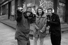 The Beastie Boys on Greenwich Street