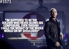 Until you fall into Eminem's musical grasp, you've never truly figured out who you were.