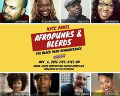 """#Repost @theblerdgurl @livingcolourofficial is coming to @newyorkcomiccon ! I'm SO excited to be moderating this panel featuring writer David Walker (Power Man and Iron Fist/Shaft) Corey Glover and Vernon Reid (Lead Singer and lead guitarist respectively of the epic black rock group Living Colour) Dr. Sheena Howard (Eisner winner Author """"Black Comics: Politics of Race and Representation"""" """"Black Queer Identity Matrix"""") Ytasha Womack (Director Journalist and Author """"Afrofuturism: The World of David Walker, Black Comics, Power Man, Coding For Kids, Rock Groups, Afro Punk, Black Rock, Iron Fist, Vernon"""