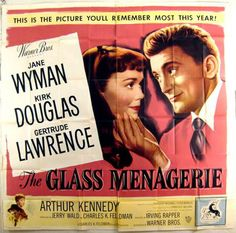 The Glass Menagerie:  Tennessee Williams is a genius.  Beautifully acted and written.