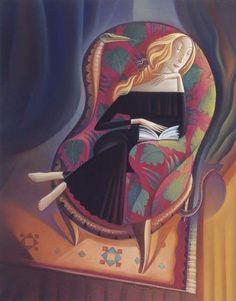 Tentación lectora (il·lustración de Mary GrandPré)
