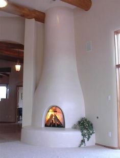 The Kiva Fireplace . Steppin' Up & Out, Southwest Style!