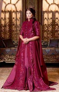 Aslıhan Gürbüz as Halime Sultan in Kösem
