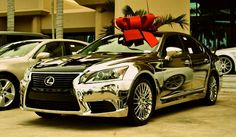 First chromed 2013 Lexus LS - how would you like this for christmas??