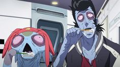 Space Dandy accurate depiction of me on Mondays.