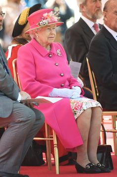 Pin for Later: The Queen Can Show You a Thing or 2 About Nailing the Perfect Birthday Look