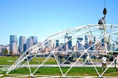90' doem frame build in New York, NY