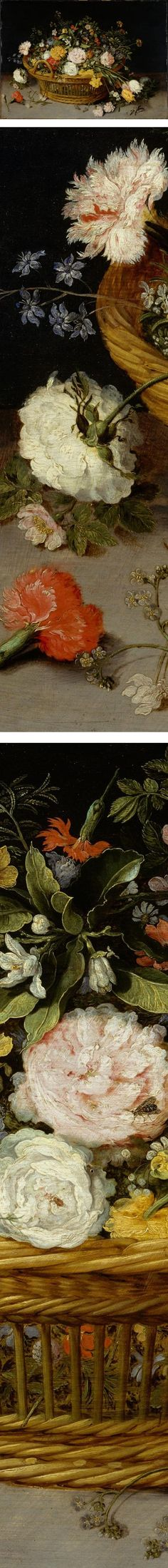 A Basket of Flowers, Jan Brueghel the Younger