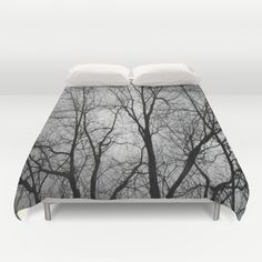 Winter Lace Duvet Cover